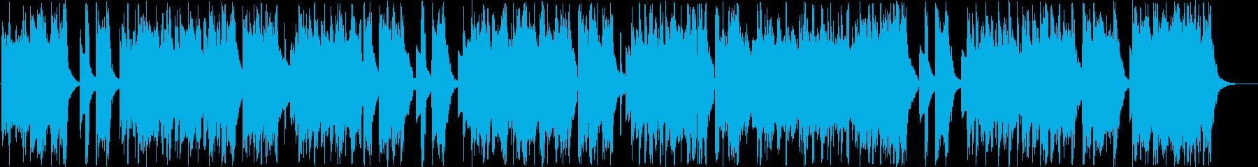ムードあるインフォメーションミュージックの再生済みの波形