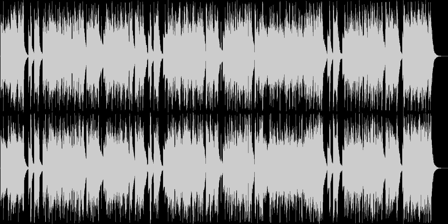 ムードあるインフォメーションミュージックの未再生の波形