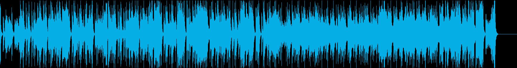 優雅なソロバイオリンがメインの曲の再生済みの波形