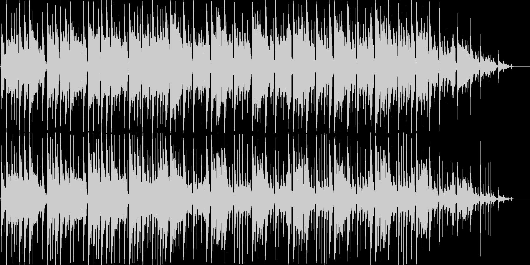 女性的でガーリーなカフェ音楽のイメージの未再生の波形