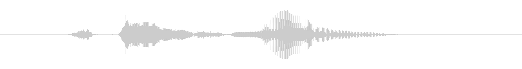 ステージ9(ないん)の未再生の波形