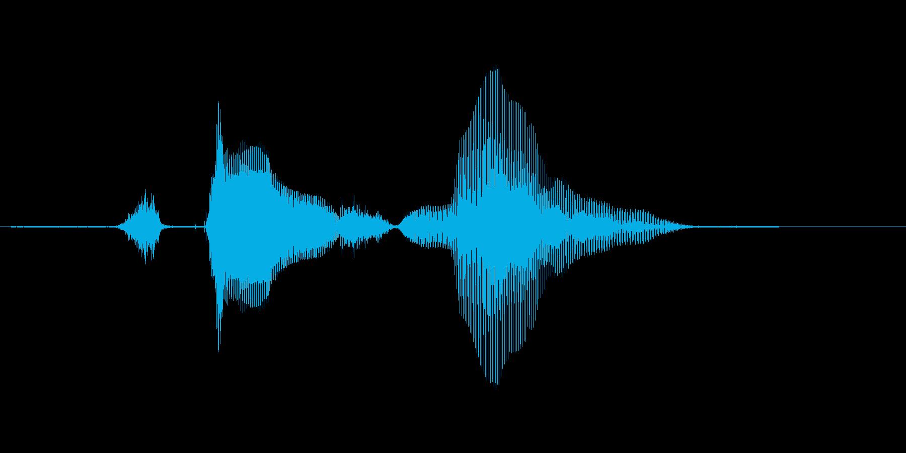 ステージ9(ないん)の再生済みの波形