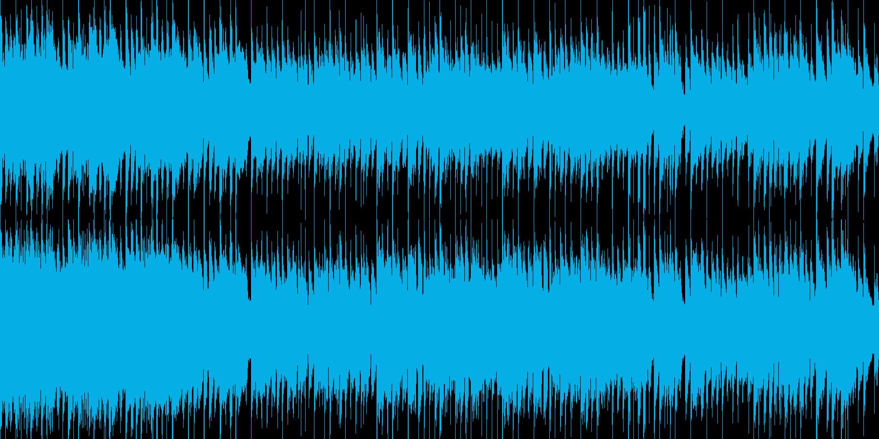 アコースティックギターの穏やかなワルツの再生済みの波形