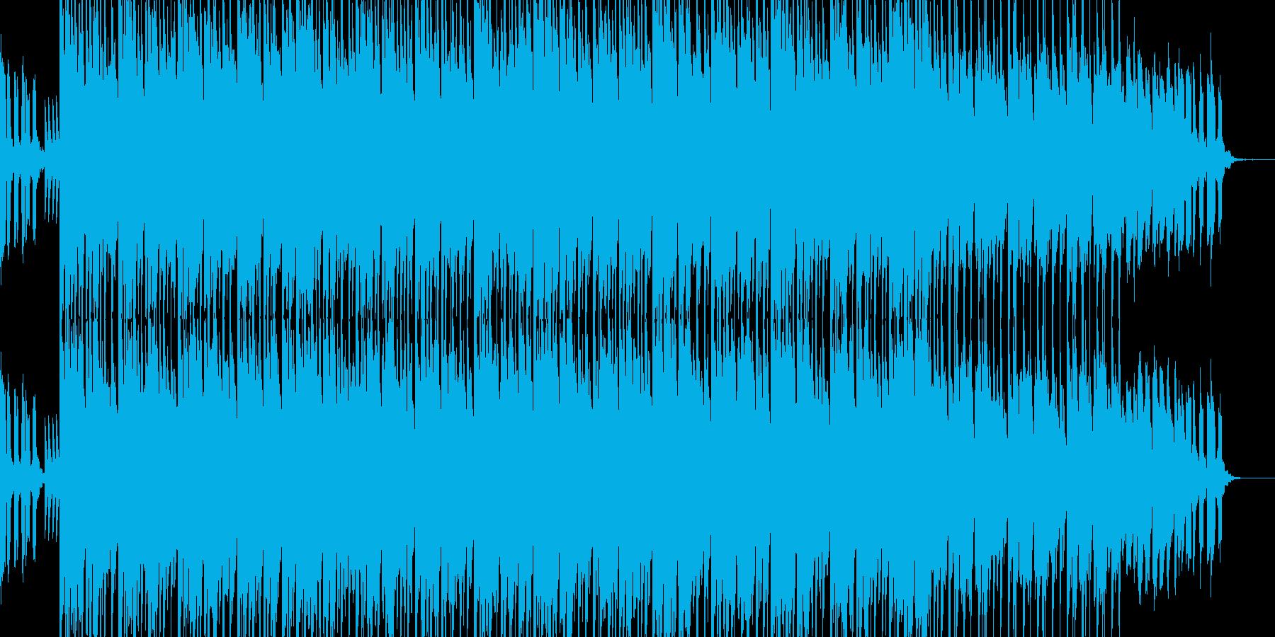 ジングルっぽい楽曲ですの再生済みの波形