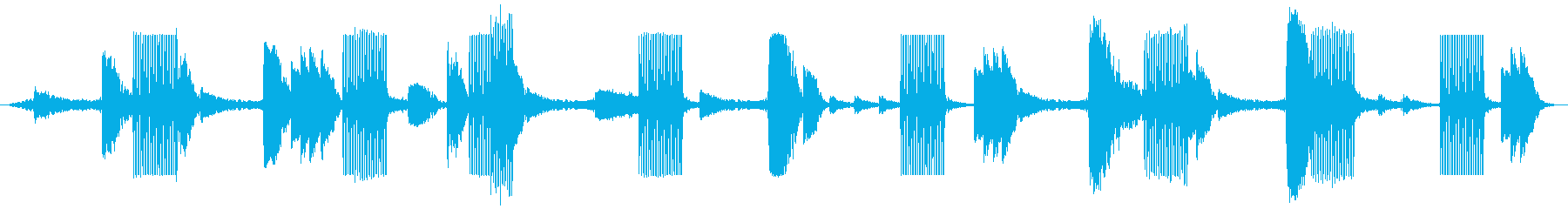 戦場イメージの効果音(タイプA)の再生済みの波形