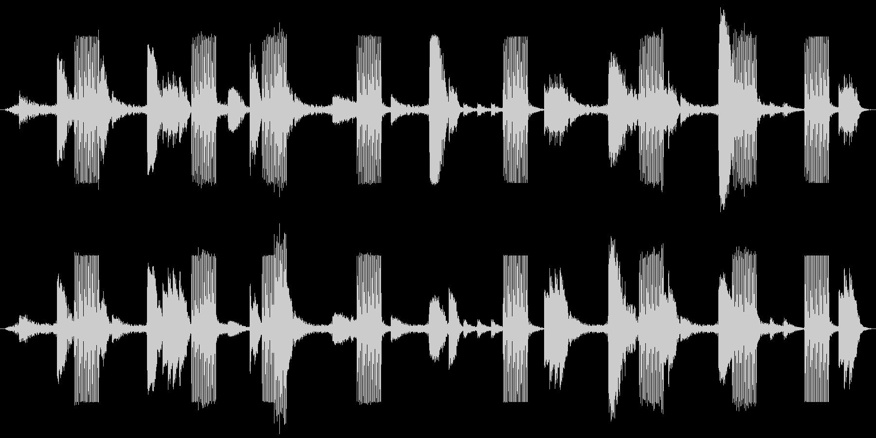 戦場イメージの効果音(タイプA)の未再生の波形