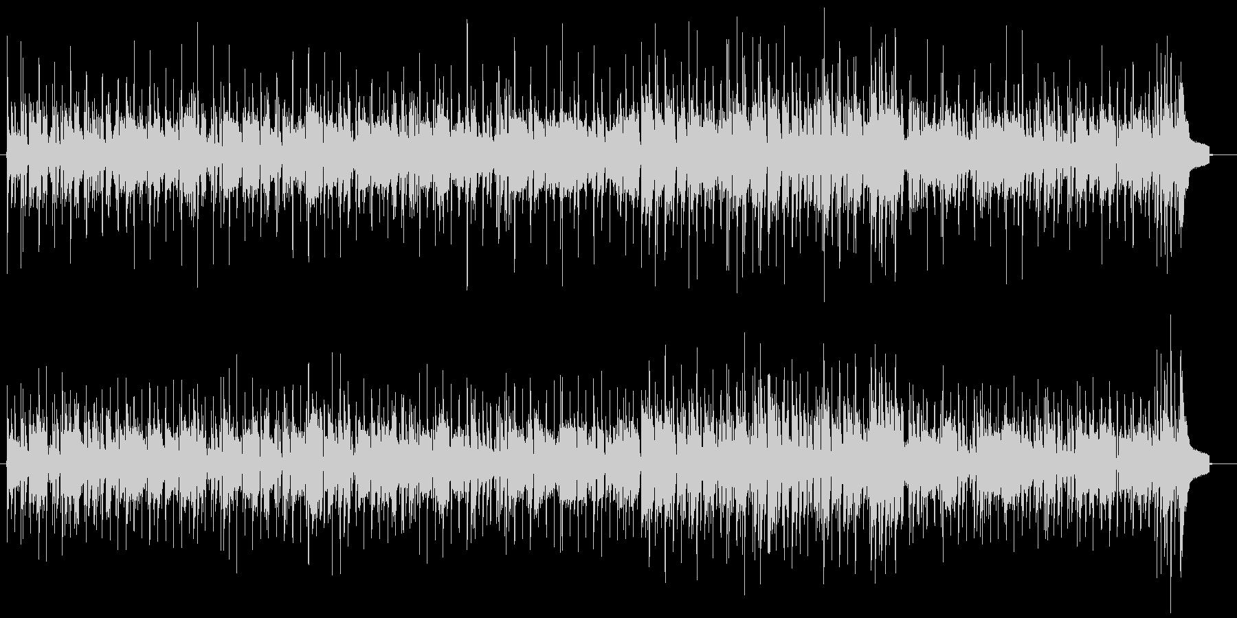 切ないR&BピアノBGMの未再生の波形
