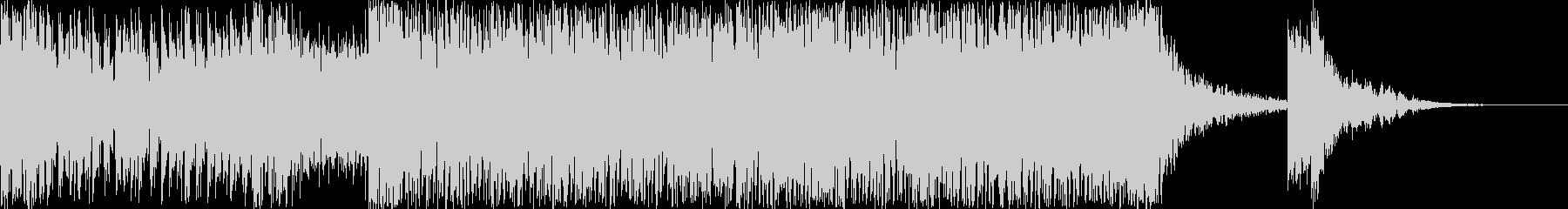 ハリウッド風トレイラー リズム主体02の未再生の波形