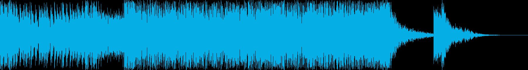 ハリウッド風トレイラー リズム主体02の再生済みの波形