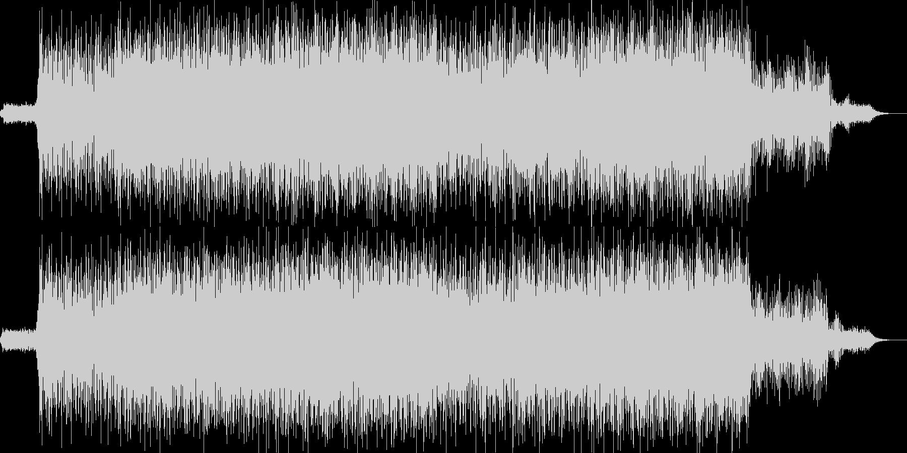 EDM現代的なシンセのクラブ系-04の未再生の波形