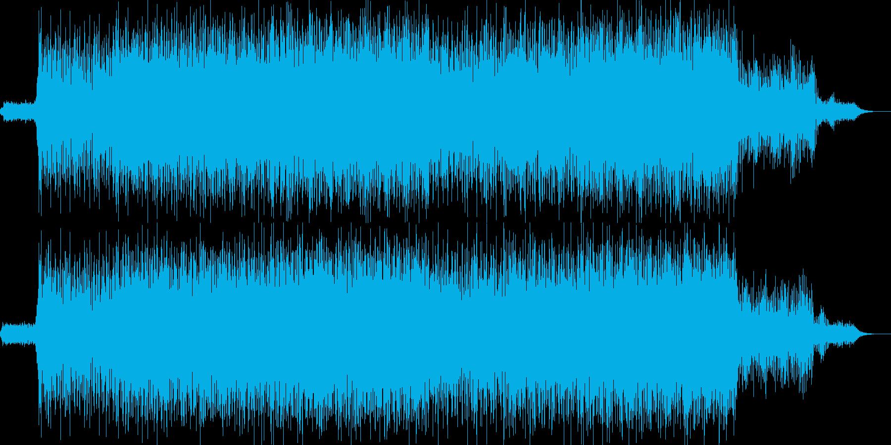 EDM現代的なシンセのクラブ系-04の再生済みの波形