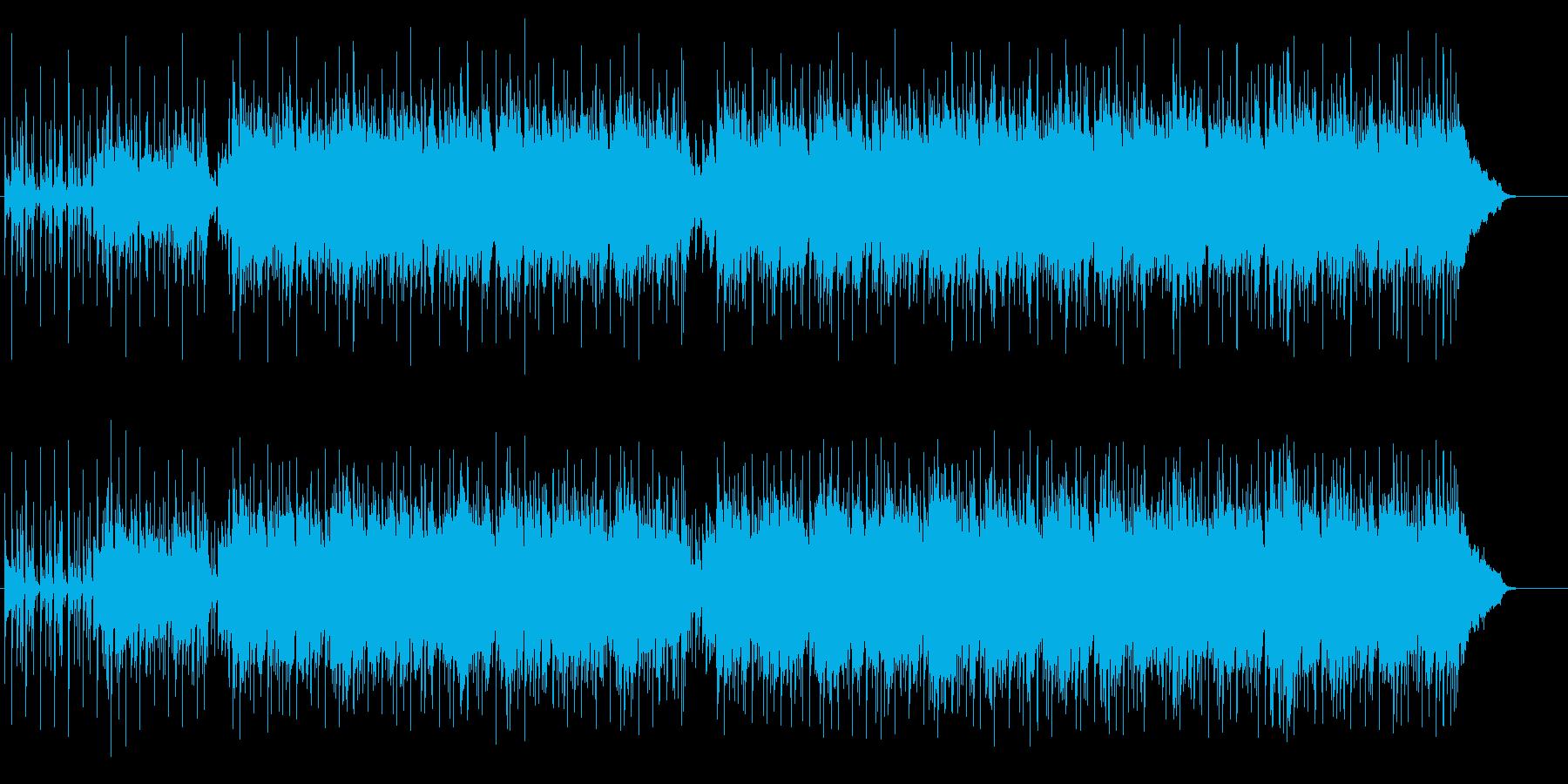 スマートなハイタッチライフB.G.M.の再生済みの波形