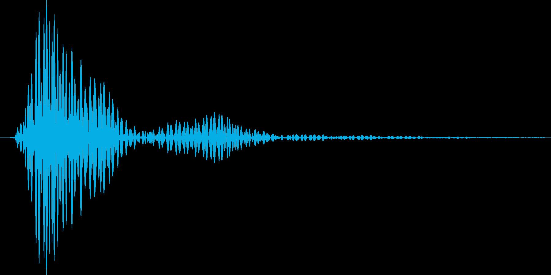 レーザーブレード3の再生済みの波形