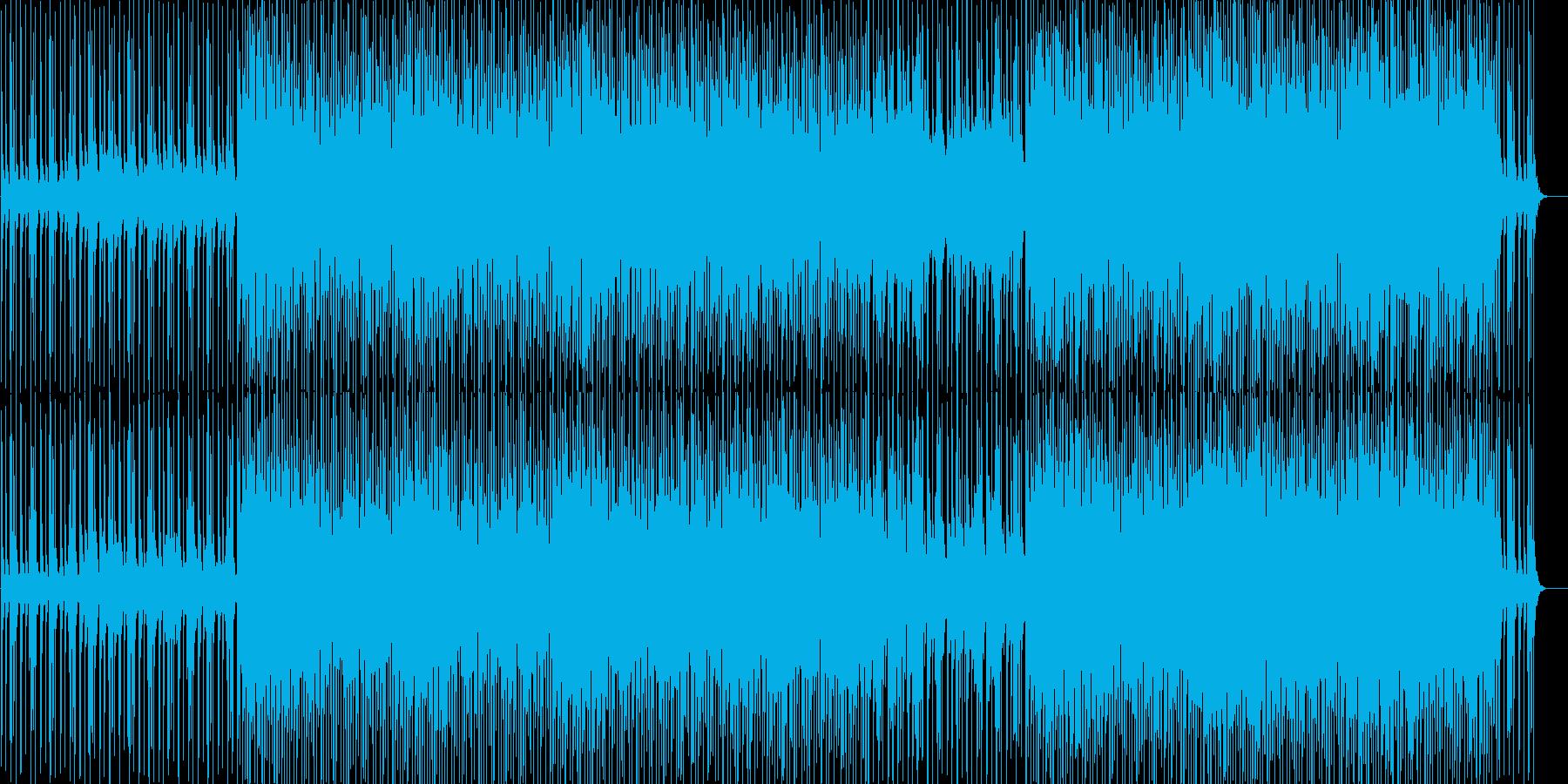 和風で楽しげなインストの再生済みの波形