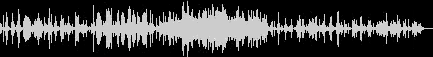 月の光 ドビュッシーのピアノ曲の未再生の波形