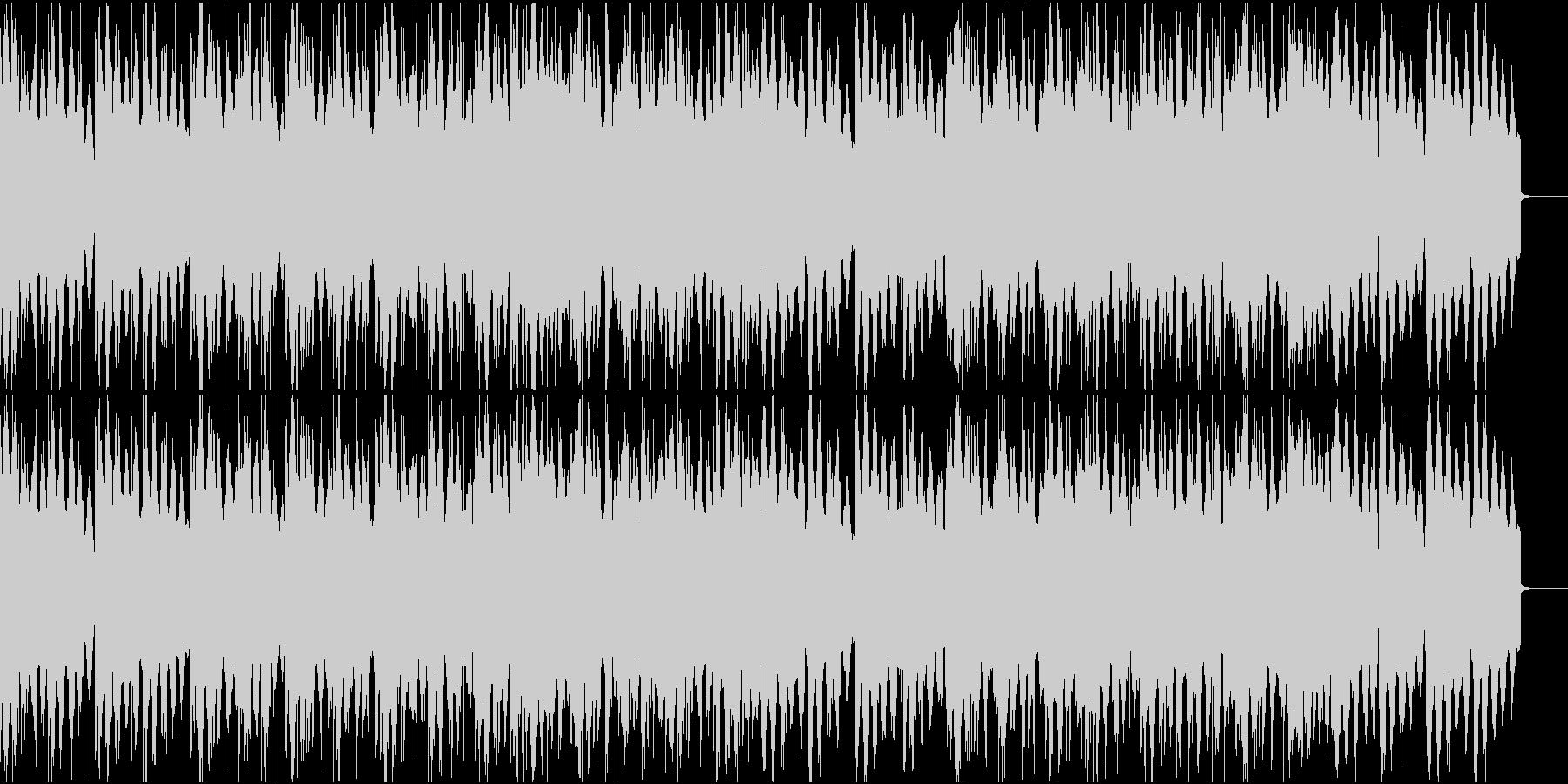 物静かなローファイHIphopの未再生の波形