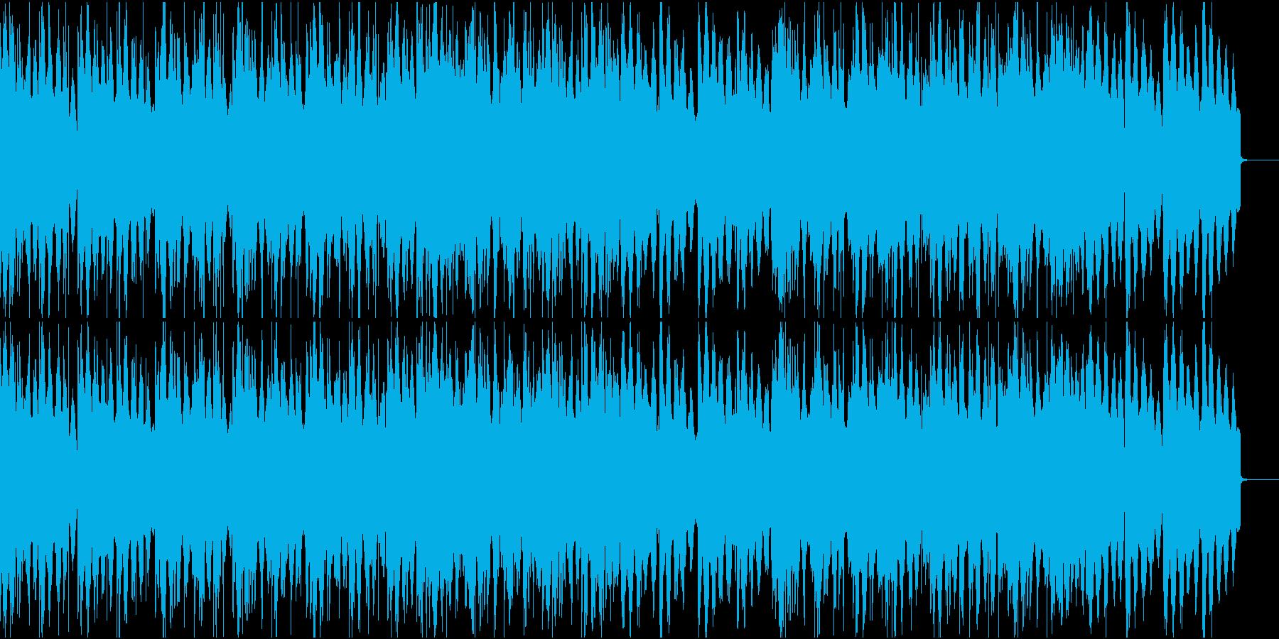 物静かなローファイHIphopの再生済みの波形