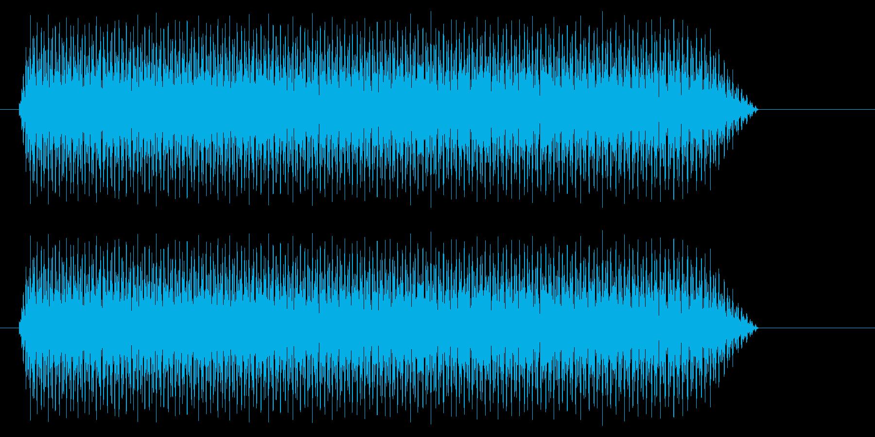 ビューン【飛ぶ、落ちる】の再生済みの波形