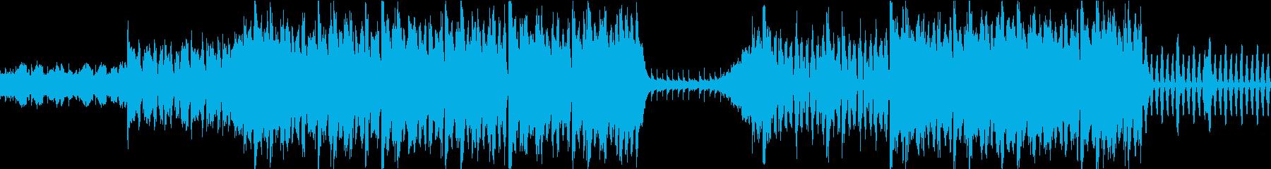ハロウィンやサーカスっぽい雰囲気のBGMの再生済みの波形