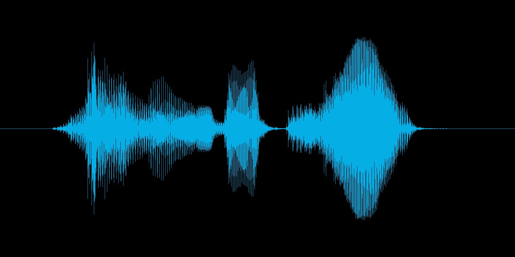 ラウンドツーの再生済みの波形