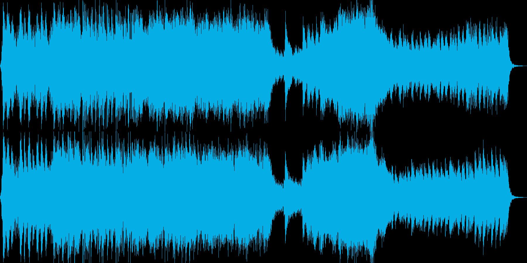 RPG世界の壮大なオーケストラ音楽の再生済みの波形