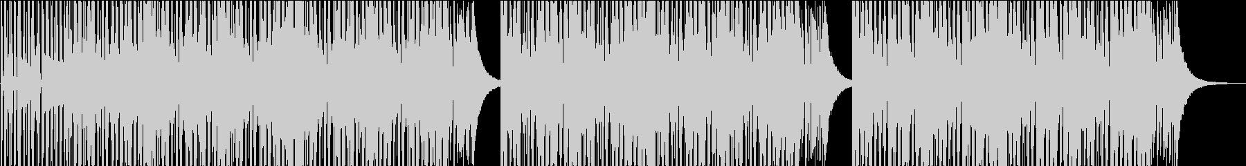 HIPHOP インストの未再生の波形