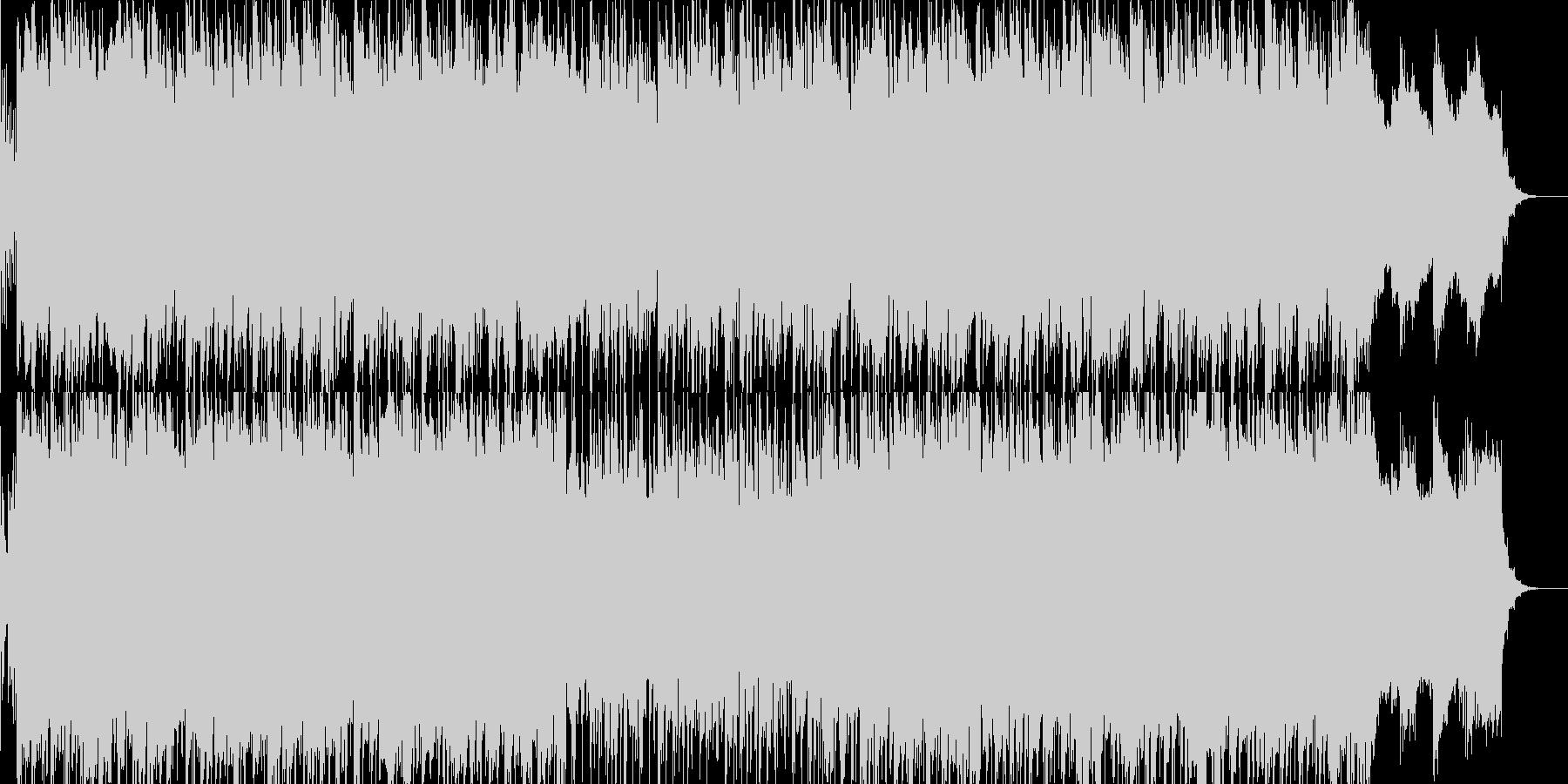 フュージョン風明るいポップス04の未再生の波形