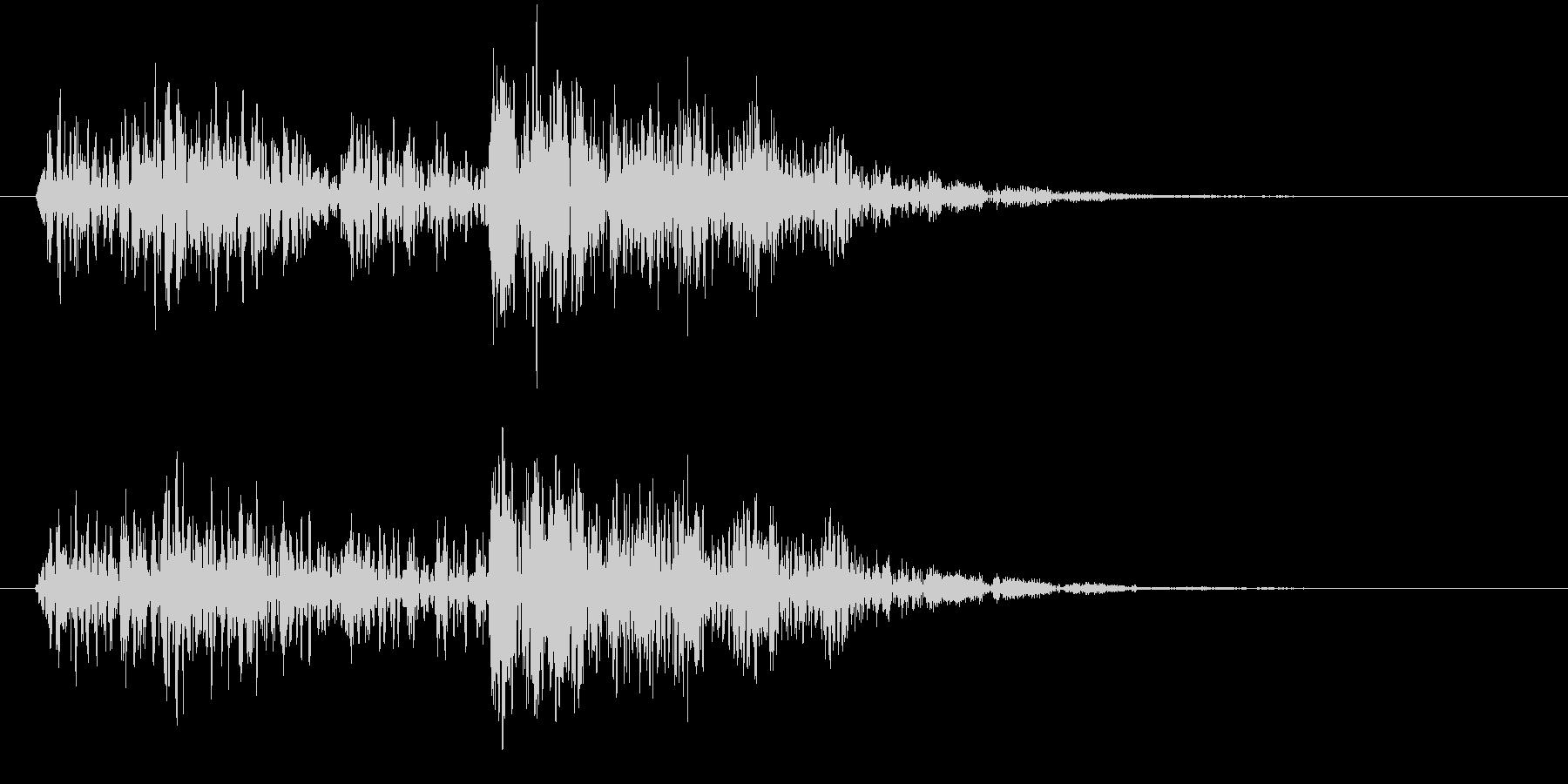 ーグムワァー(不思議な機械音)の未再生の波形