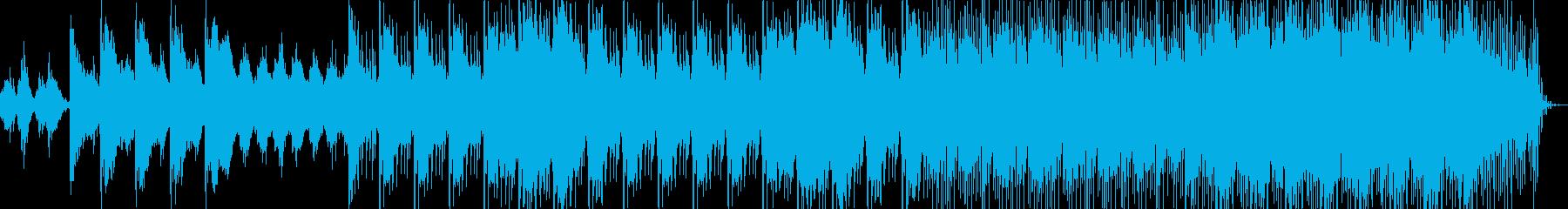 幻想的な楽曲 日本的な音楽の再生済みの波形