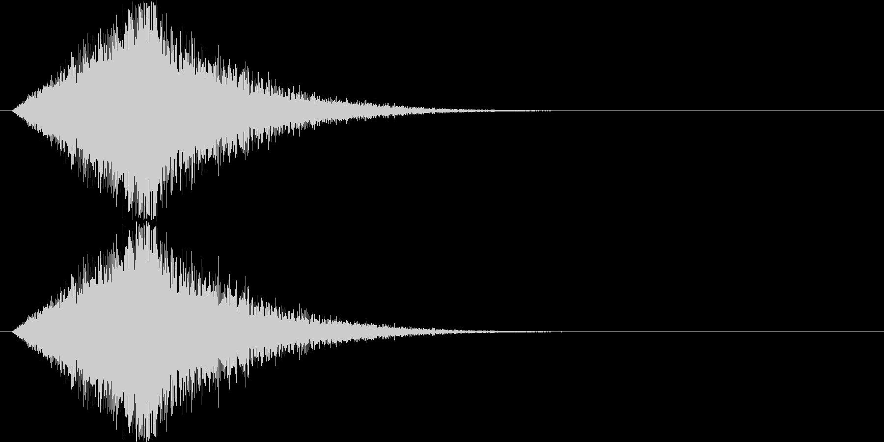 キロロロロロ↓(場面転換、流れ星)の未再生の波形