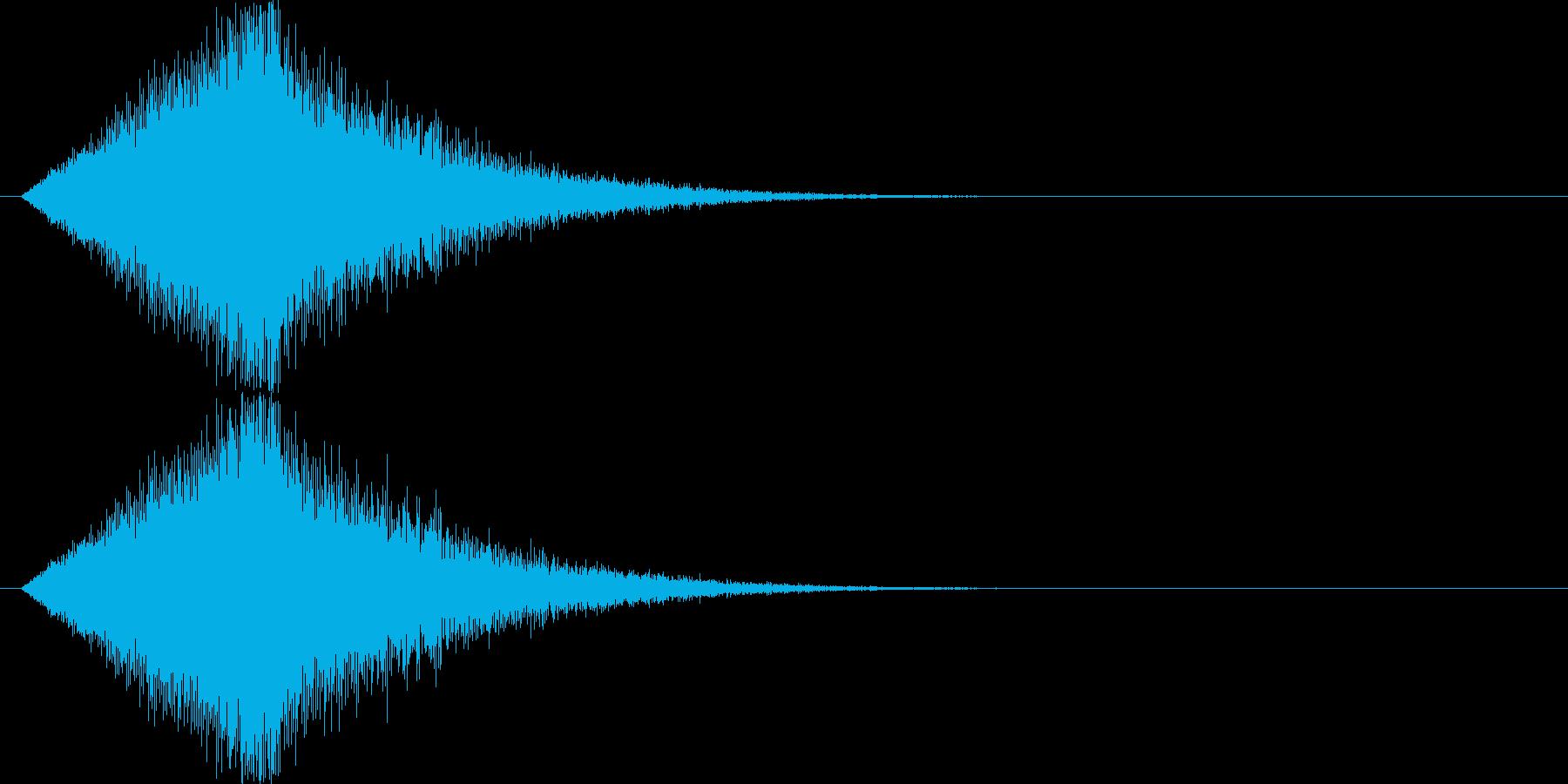 キロロロロロ↓(場面転換、流れ星)の再生済みの波形