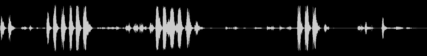 野生の鳥02(複数)の未再生の波形