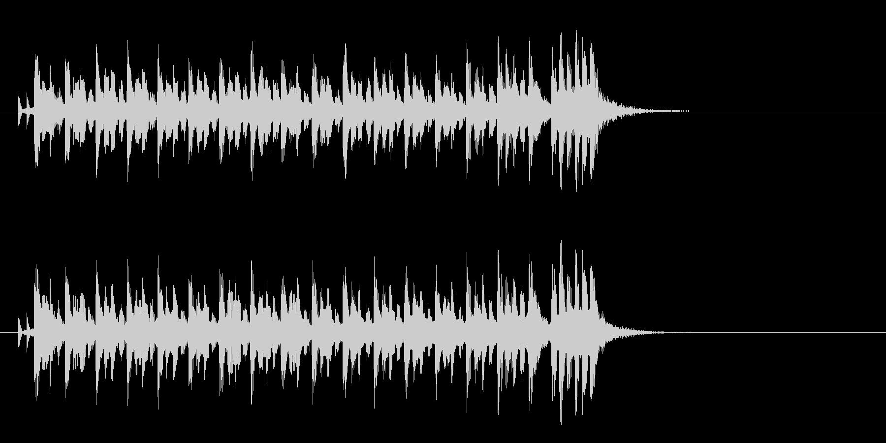 かわいいクラシカルポップ(イントロ)の未再生の波形