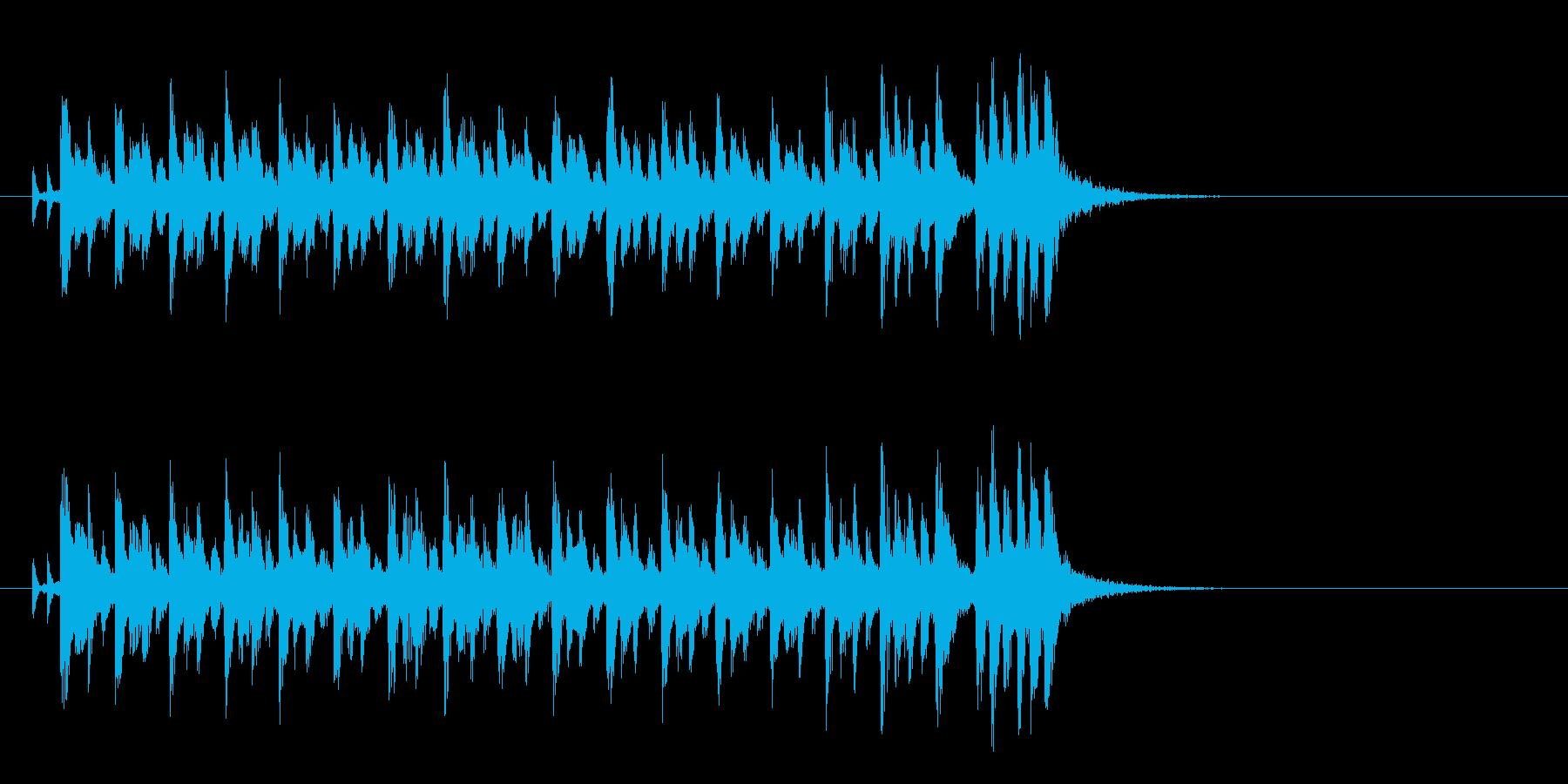 かわいいクラシカルポップ(イントロ)の再生済みの波形