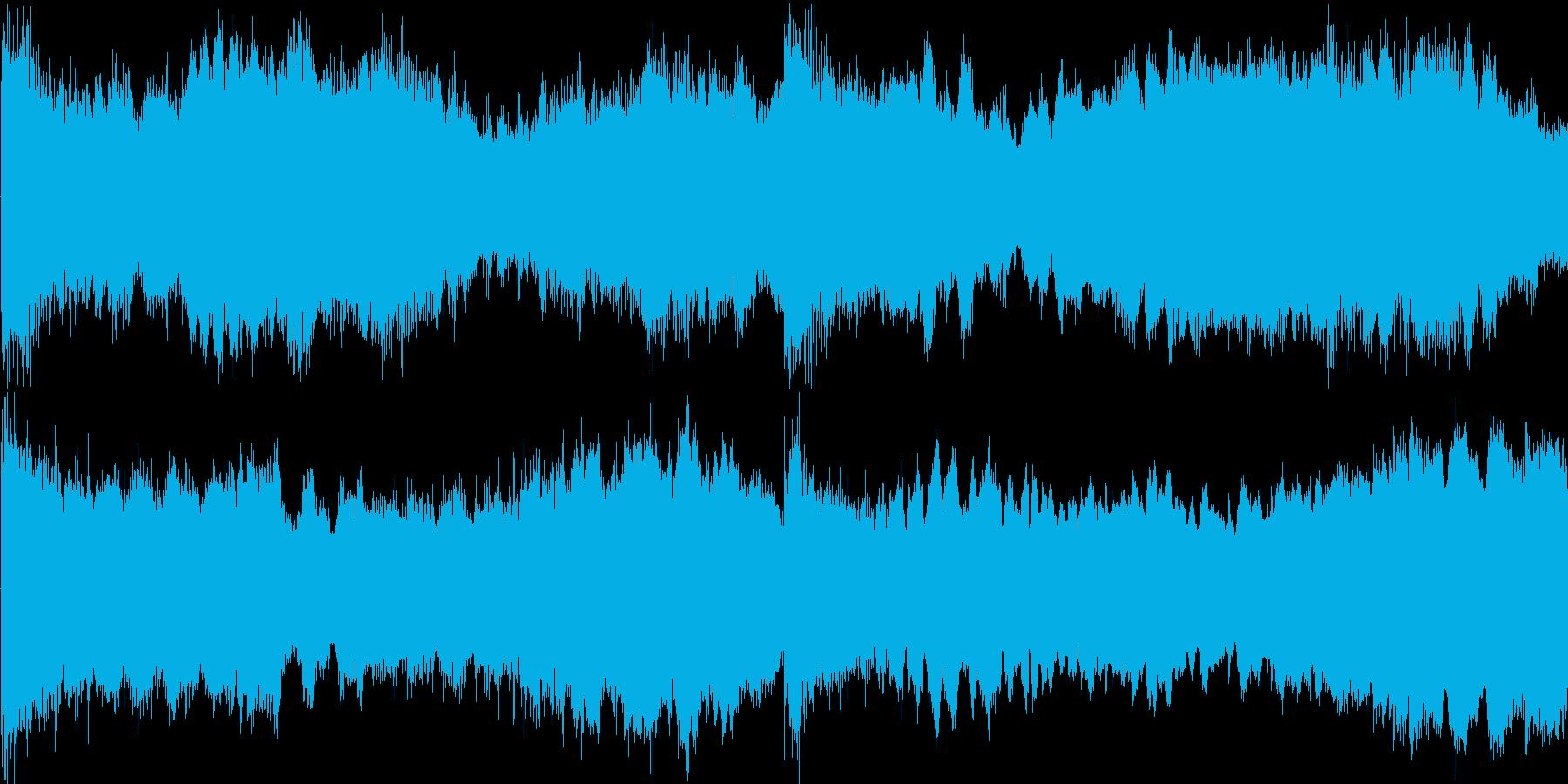 不安感を感じる楽曲です。不安定なシーン…の再生済みの波形