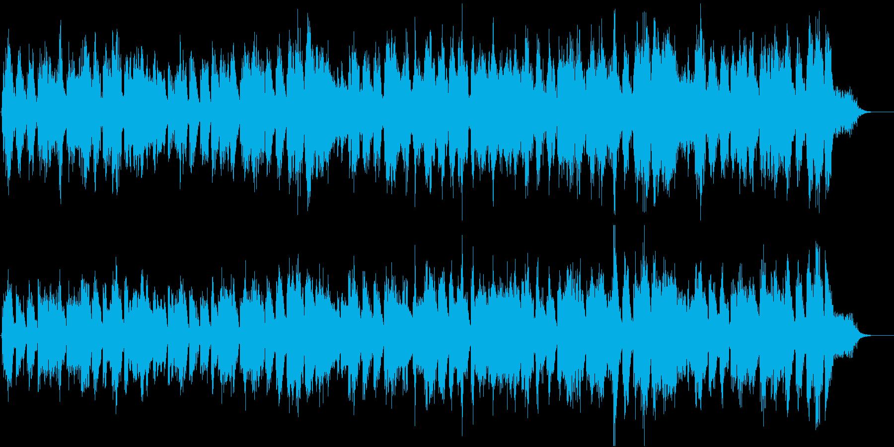 口笛とハーモニカのかわいいラグタイムの再生済みの波形