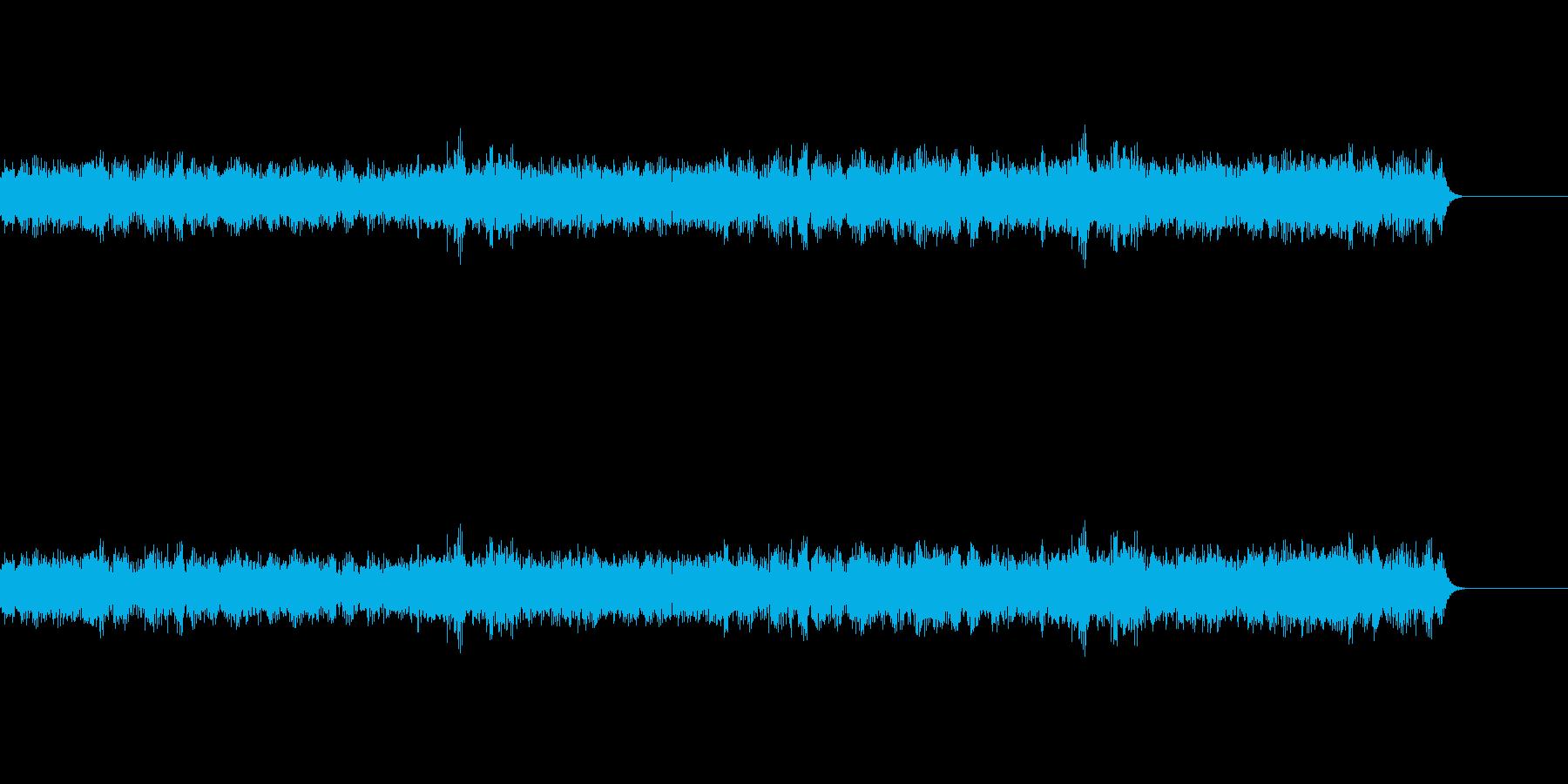 虫の羽音の再生済みの波形