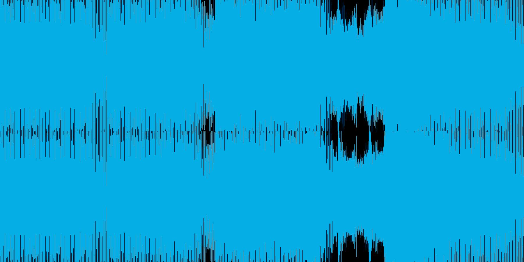 シンセが乗ってくるミニマルマウスの再生済みの波形