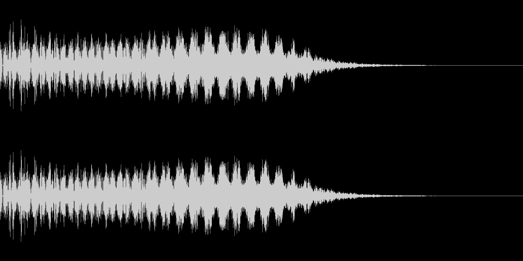 レーザー発射(SF/宇宙/光線)の未再生の波形