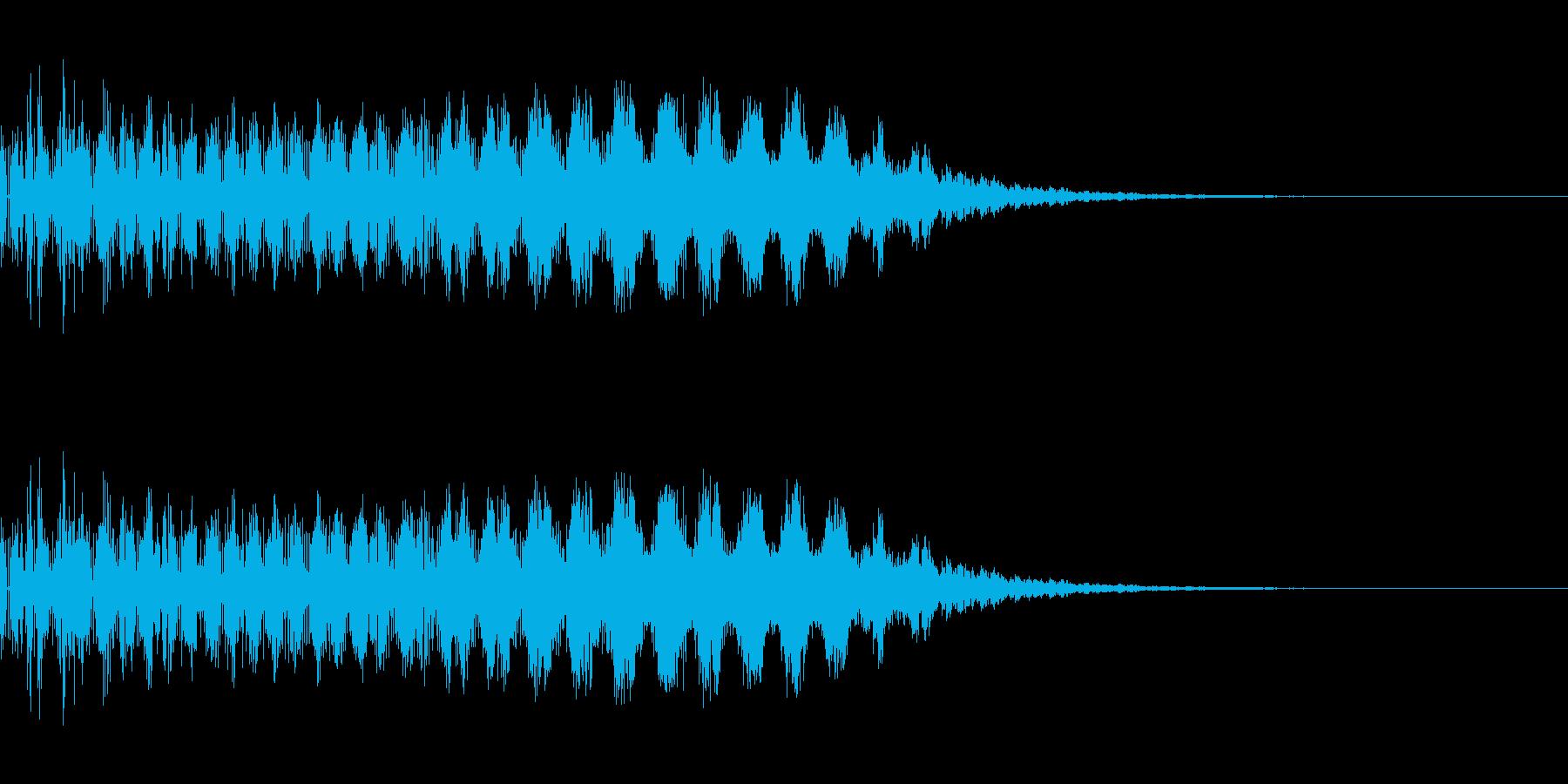 レーザー発射(SF/宇宙/光線)の再生済みの波形
