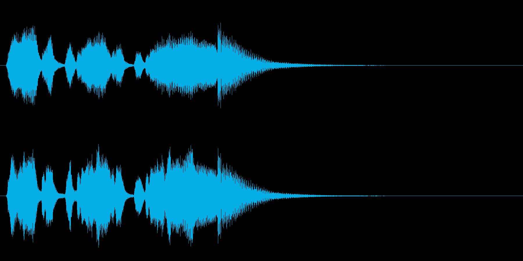 軍隊5 レアカード レベルアップの再生済みの波形