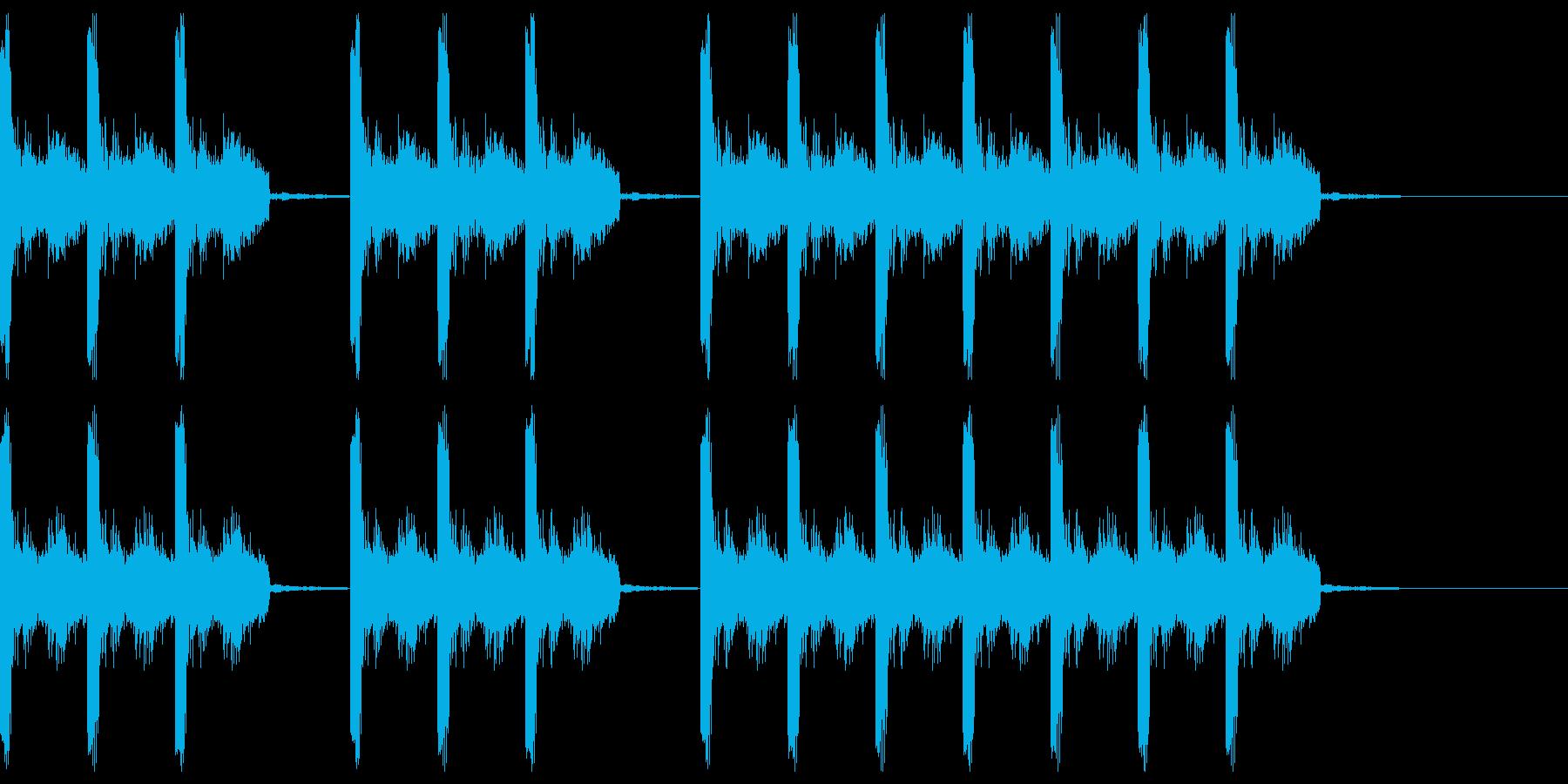 三三七拍子 その12の再生済みの波形