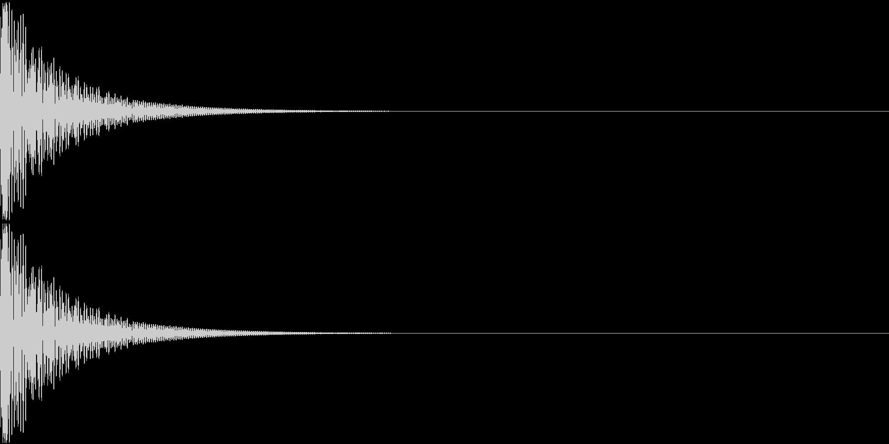 Cap フタ・栓を開ける音 10の未再生の波形