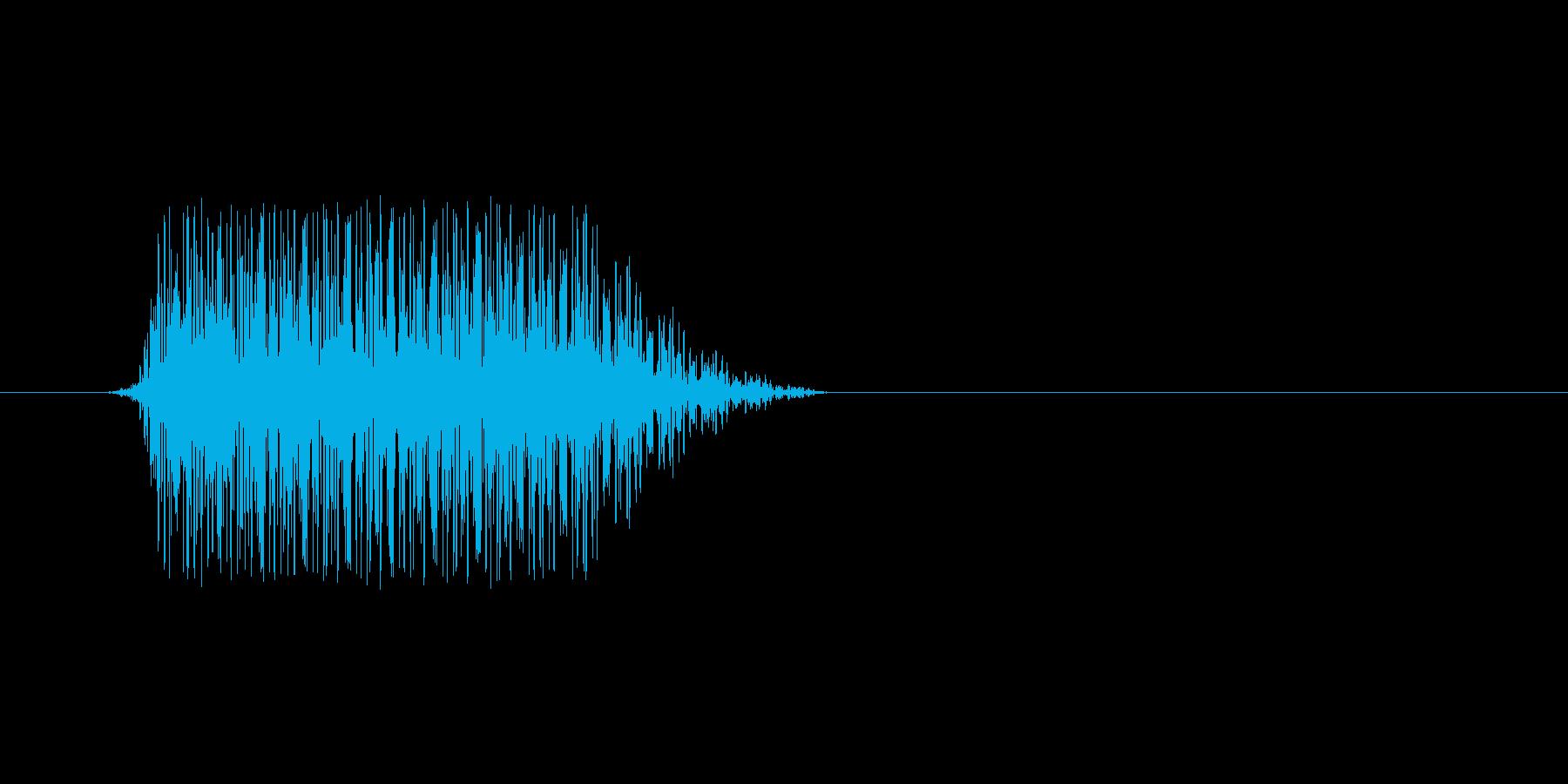 ファミコン風効果音 決定音系です 30の再生済みの波形