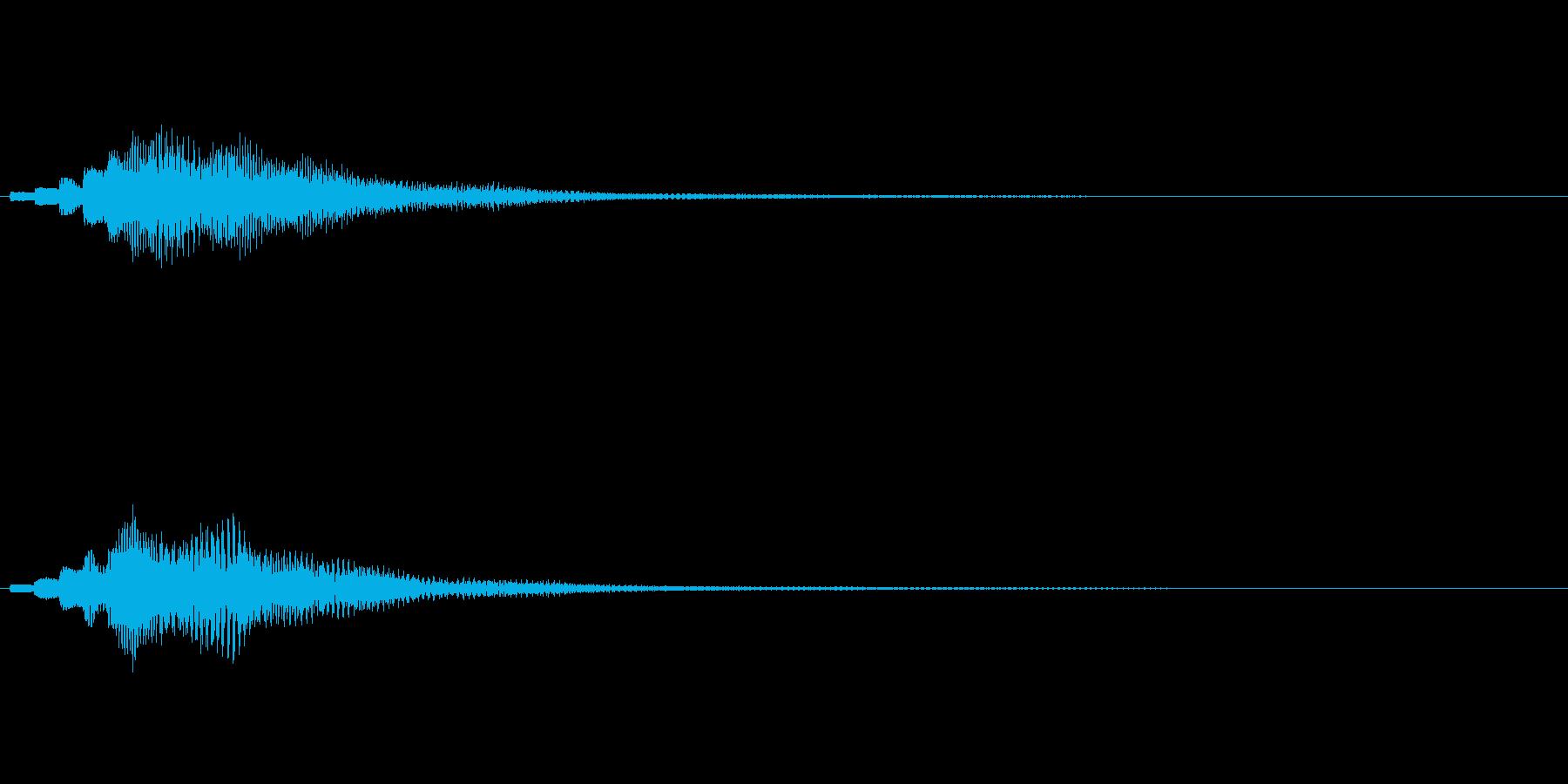 【ショートブリッジ07-2】の再生済みの波形