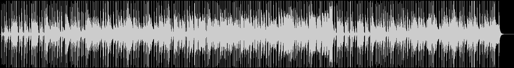 ノリがよくカッコいいジャズピアノトリオの未再生の波形