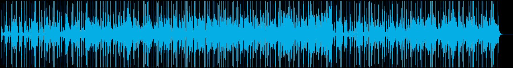 ノリがよくカッコいいジャズピアノトリオの再生済みの波形