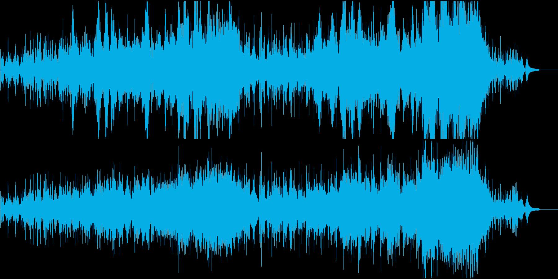 ほのぼの・スタイリッシュ・violinの再生済みの波形