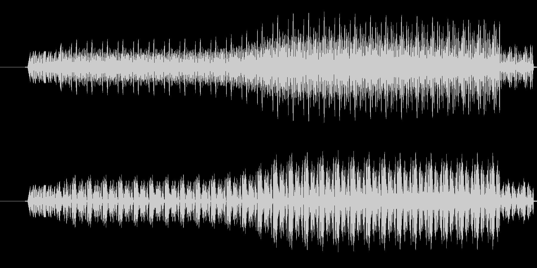 【効果音/ブー/電子音/ブザー】の未再生の波形