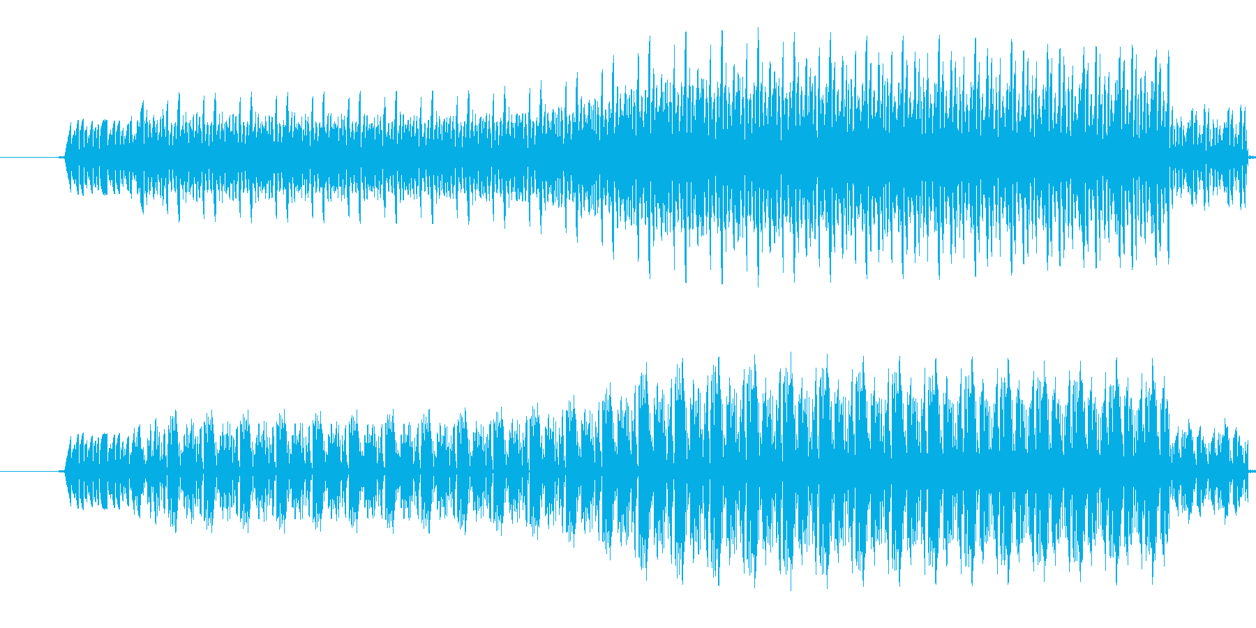 【効果音/ブー/電子音/ブザー】の再生済みの波形